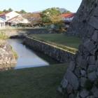 北側の内堀、復元工事完成