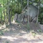 主郭上部の大岩