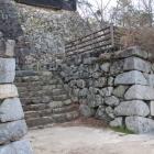 川手櫓台東、豊川よりの登城口