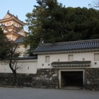 大垣城天守と西門