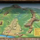 小谷城案内図