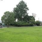 公園内部本丸より櫓台を見る