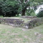 櫓台上部の石垣基壇