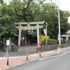江尻小学校南側稲荷神社