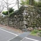 御作事所裏側の石垣城塁角