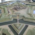 五稜郭タワー展望に在る五稜郭模型