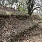 二の丸西面の石垣