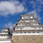 備前丸から見た姫路城。