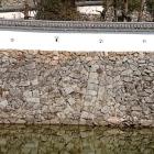 姫山と鷺山の境目。