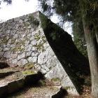 納戸櫓台の高石垣