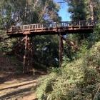 本丸に入る為の引橋