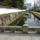 模擬門脇の水堀風水路