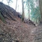 亀山城二の丸北側空堀
