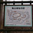 亀山城本丸パネル2
