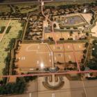 歴史民俗資料館の壬生城模型