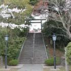 本丸の登城階段、参道