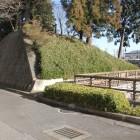 同左西側土塁と濠