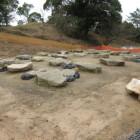 建物礎石群