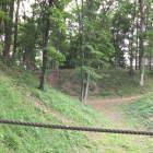 二の郭の土橋からの中堀