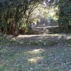 同左数段の屋敷跡