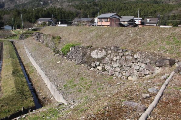 西側の石垣