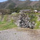 西側石垣の北側石垣