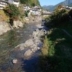 市内を流れる吉田川