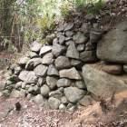 飯盛城 石垣