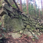 三本松丸の東側