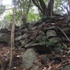 御体塚郭の東側尾根