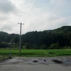 大葉沢城遠景