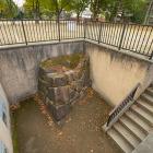 宇喜多時代の石垣