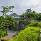 富士見櫓跡から
