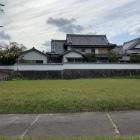空掘越しに見る慈光寺