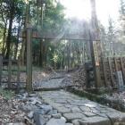冠木門の大手門