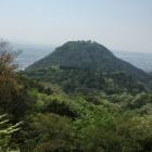 太閤ヶ平から見た久松山