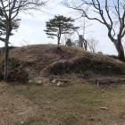 本丸北東部の石垣