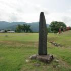 丸岡城址と石碑