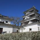 大洲城模擬天守と現存櫓