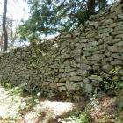 東斜面の石垣