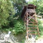 清瀧寺に在る復元井戸櫓