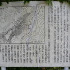 登福寺前に案内解説板