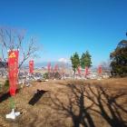 本丸から見る富士山