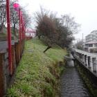 登城口脇の水路