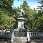 佐竹氏銅像