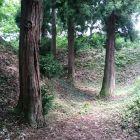 今井城虎口~二の丸間空堀2