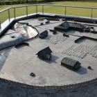 中館に在る立体模型