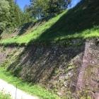 出丸から見た本丸石垣
