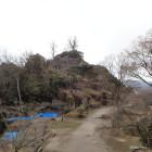 大矢倉から天守台方向を見る