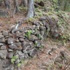 4郭側面の石垣